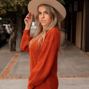 Kameakay Rustic Sweater Dress